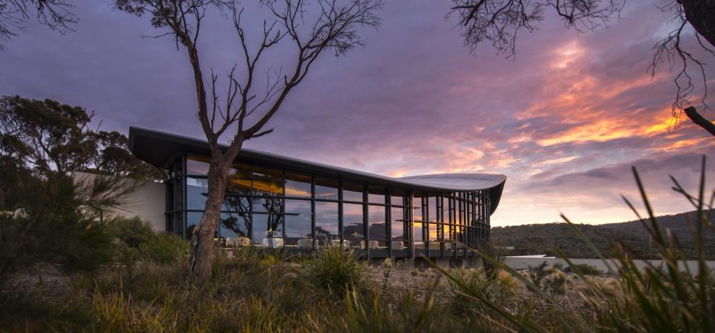Im Saffire Freycinet in Tasmanien ist man weitab - und genießt trotzdem Luxus.