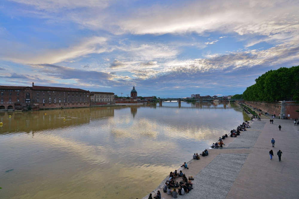 Promenade in Toulouse