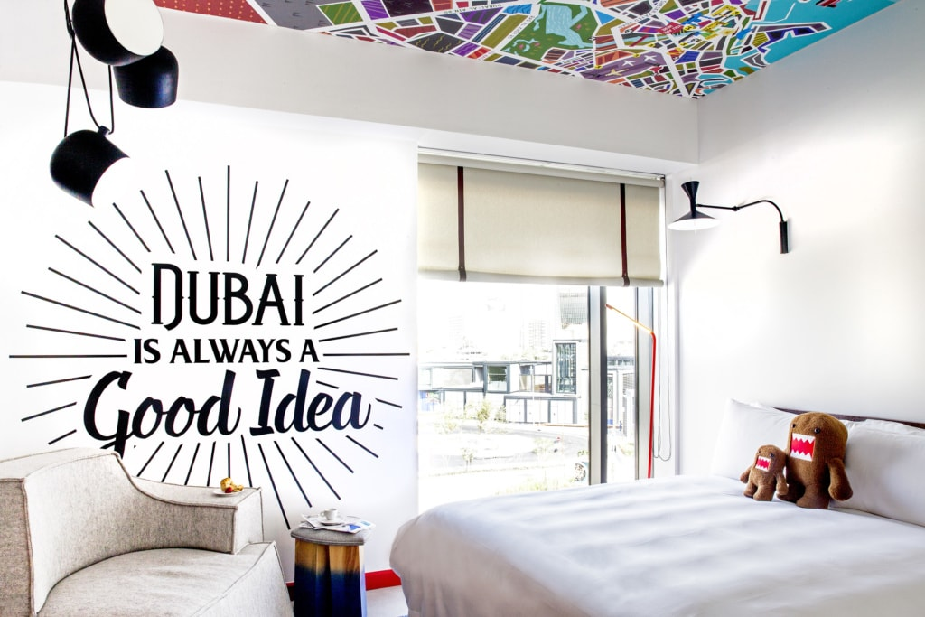 Schlafzimmer im Zabeel House Al Seef in Dubai