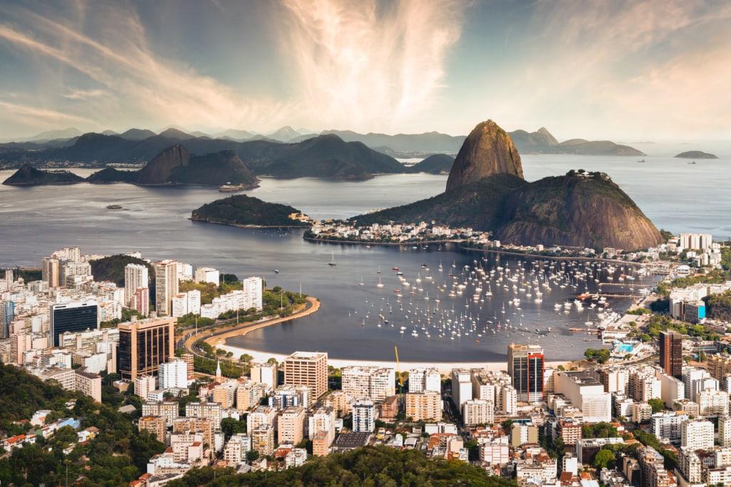 Das Wahrzeichen von Rio de Janeiro: der Zuckerhut.