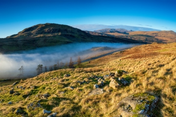 Der Crimes Pass an einem der schönsten Orte in Wales, dem Snowdonia Nationalpark