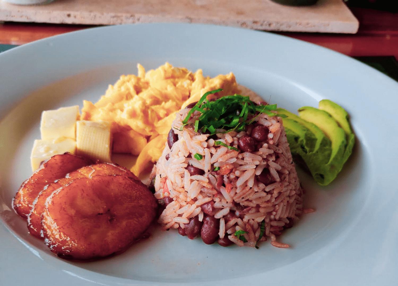 Gallo Pinto ist ein typisches Frühstück in Costa Rica
