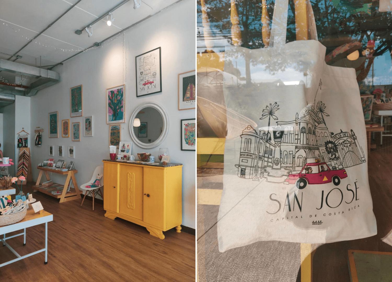 Holalola Shop im Barrio Dent in San José