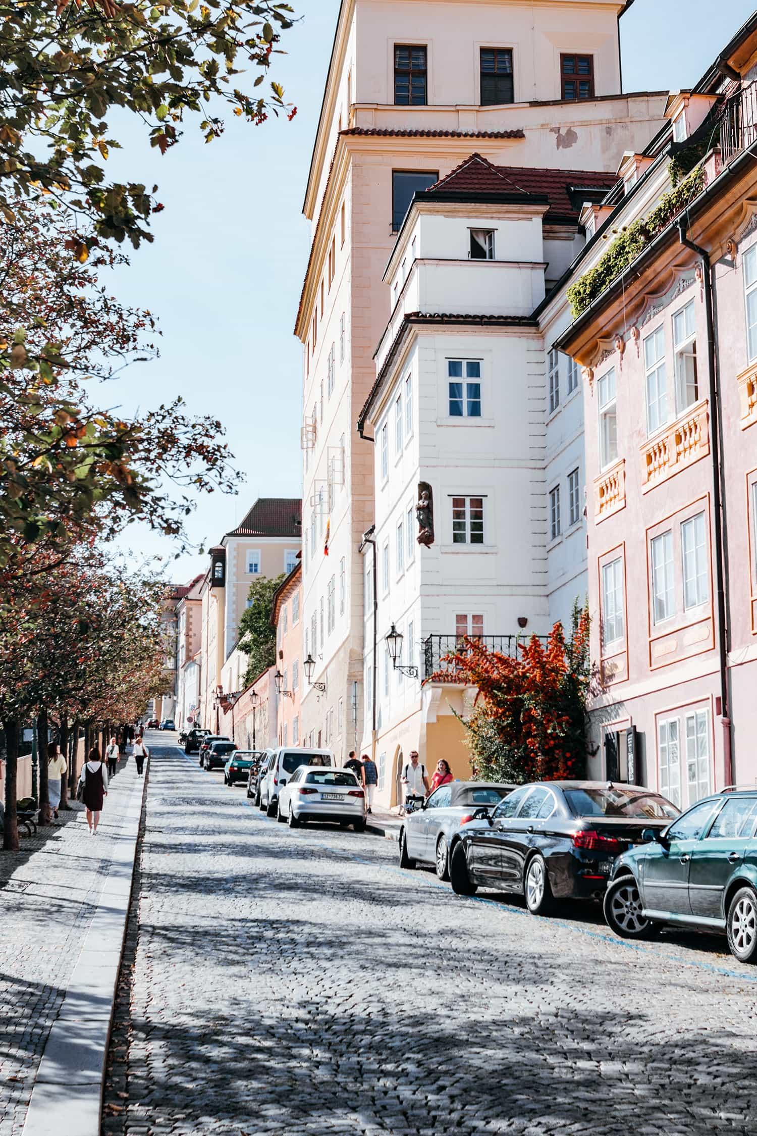 Frühlingserwachen auf der Kleinseite in Prag