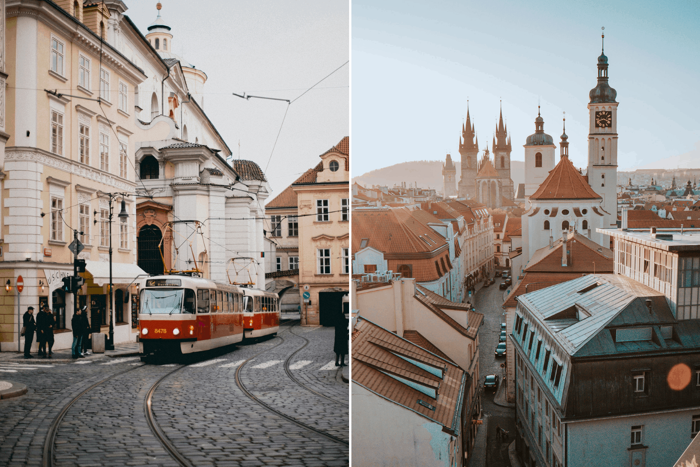 Urbane Impressionen aus Prag
