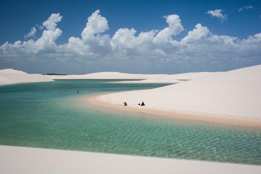 Ökotourismus in Brasilien: Dünen und glasklare Lagunen in Lençois Maranhenses