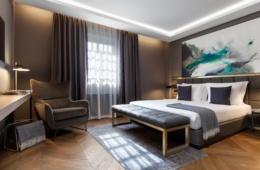 Zimmer im Hotel Pacai in Vilnius, Litauen