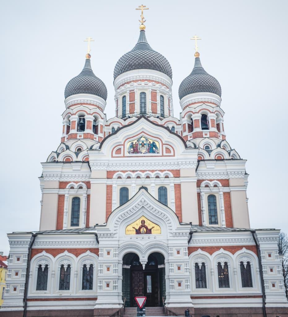 Alexander-Newiski-Kathedrale in Tallinn