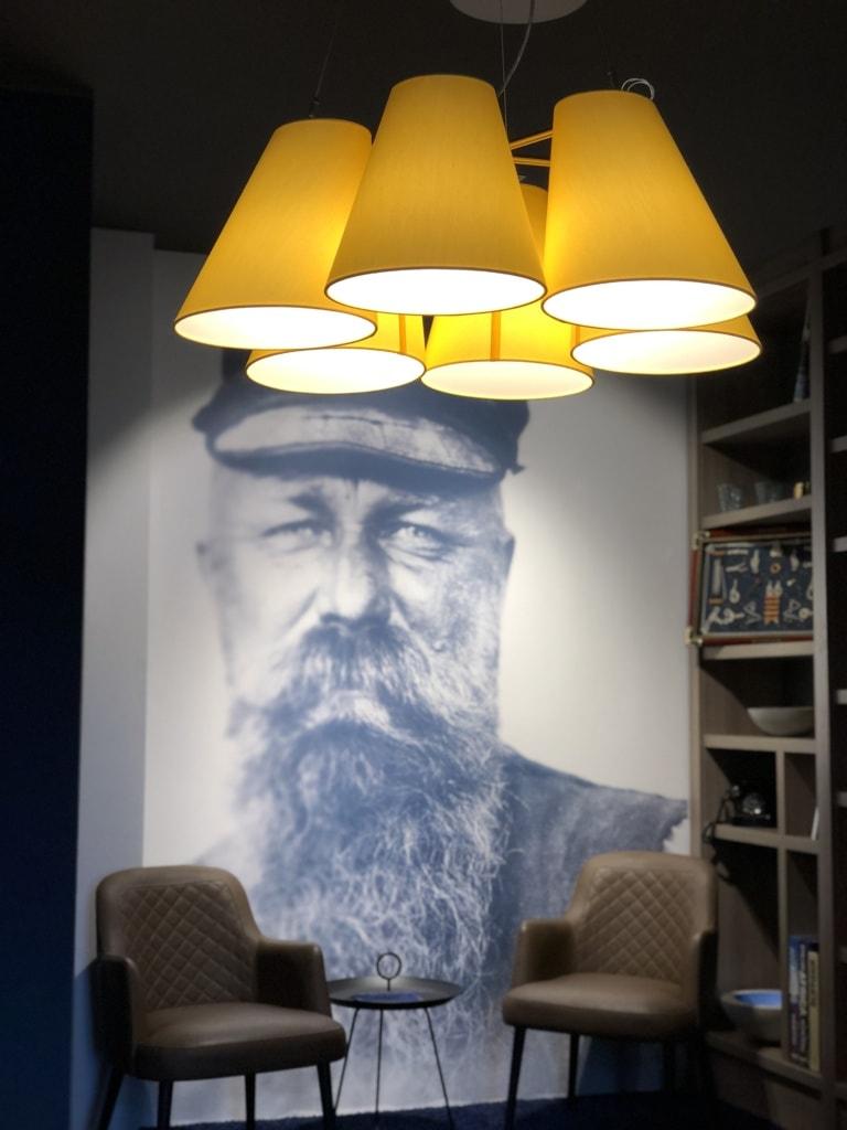 Bibliothek im Küstenperle Strandhotel & Spa