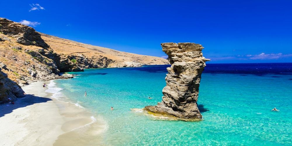 Griechische Inseln: Strand