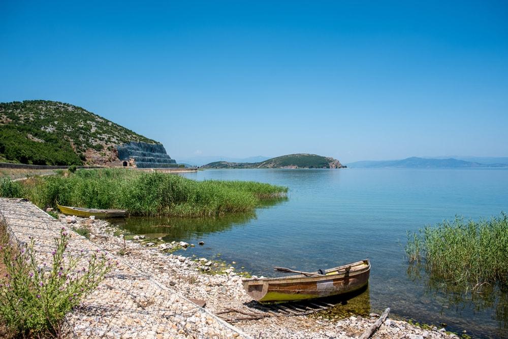 Albaniens Sehenswürdigkeiten: der Ohridsee