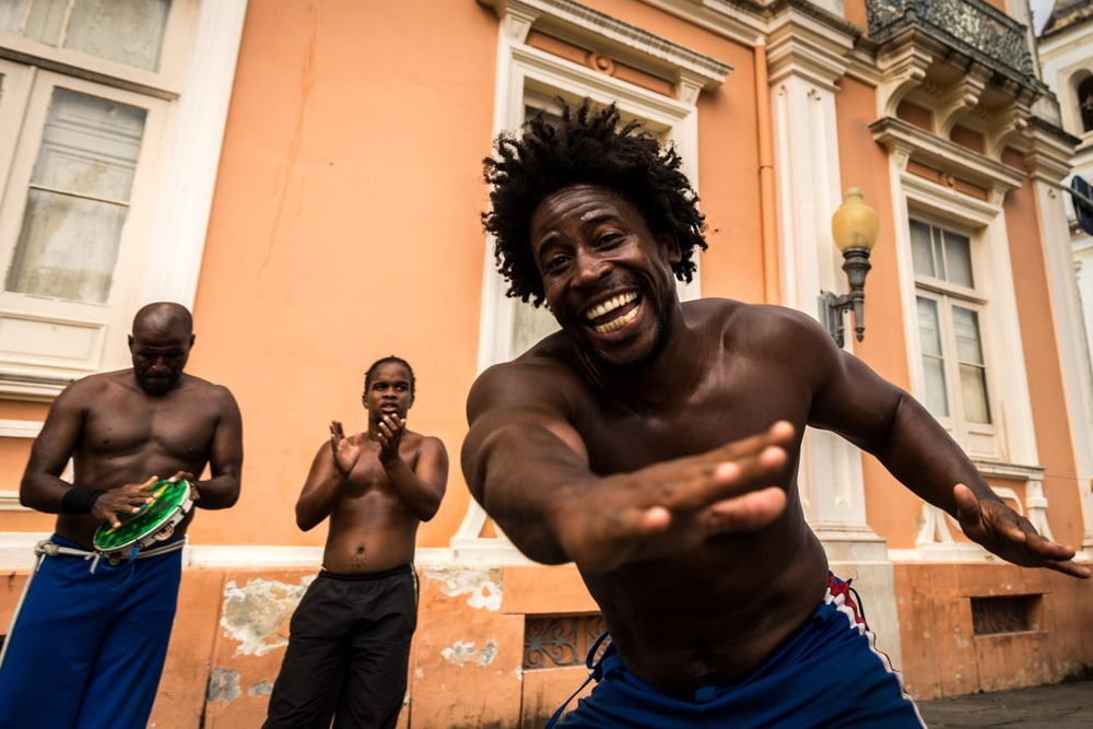Tänzer in Salvador da Bahia