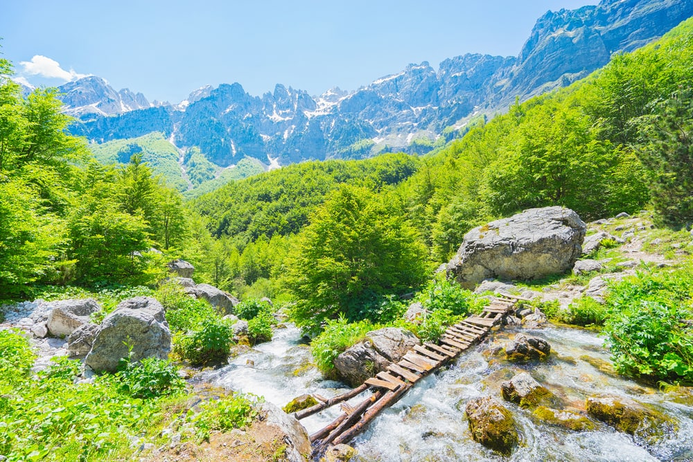 Valbona-Tal in Albanien