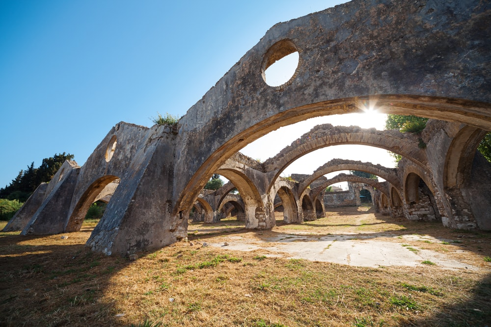 Griechische Inseln: Antike auf Korfu