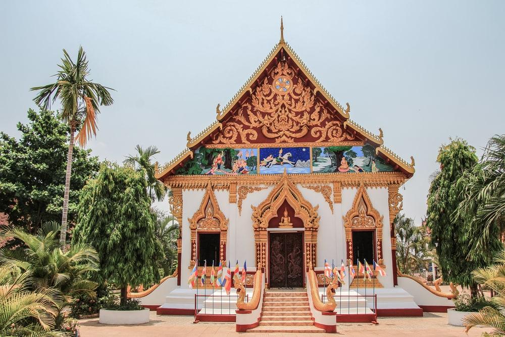 Wat-Luang-Tempel in Laos