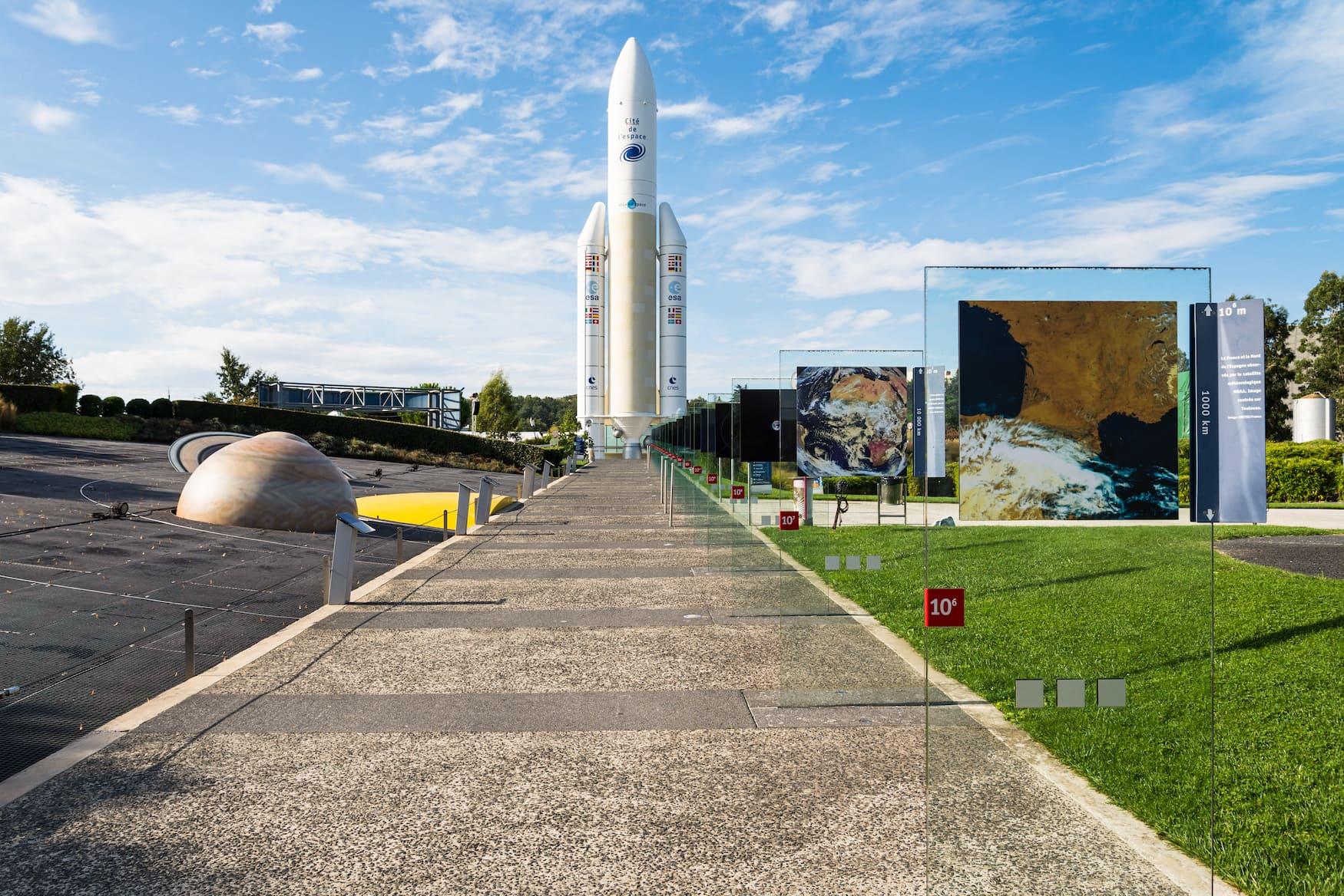 Cité l'Espace - Themenpark für Raumfahrt in Toulouse
