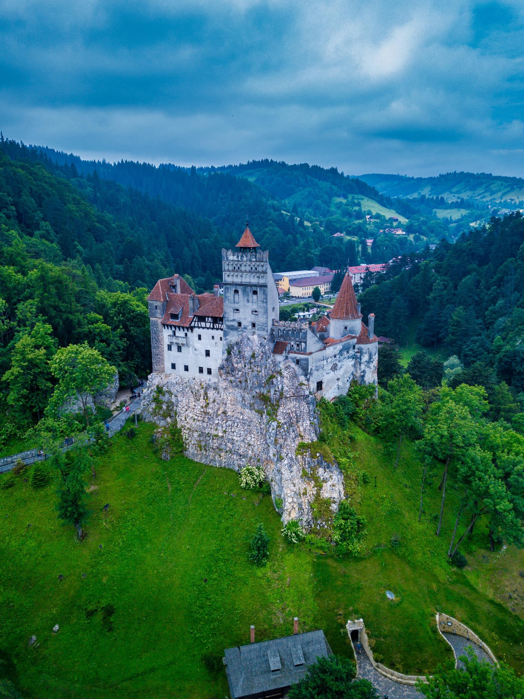 Schloss Bran sollte man während einer Reise nach Transsilvanien besuchen