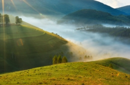 Apuseni Berge in Transsilvanien