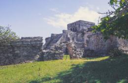 Yucatán: Die berühmte Mayaruine in Tulum zieht täglich Touristen aus aller Welt an