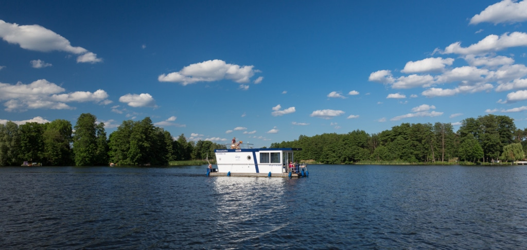 Hausboot in Brandenburg