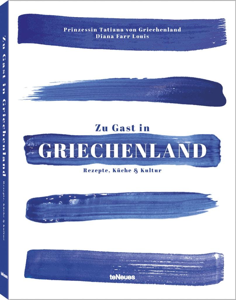"""Buchcover """"Zu Gast in Griechenland"""""""