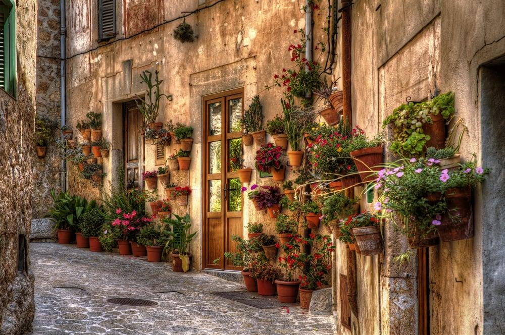 Selfie auf Mallorca: Valldemossa