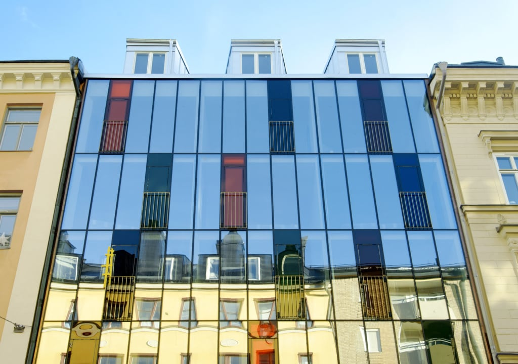 Hellstens Glashus in Stockholm