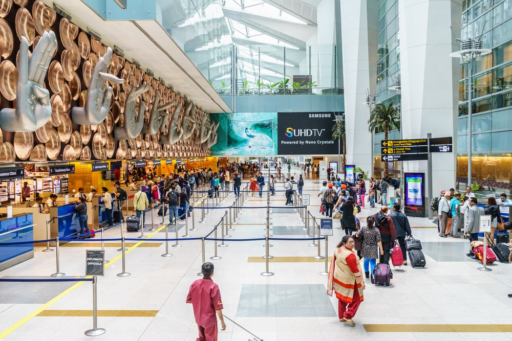 Gandhi International Airport in Neu-Delhi
