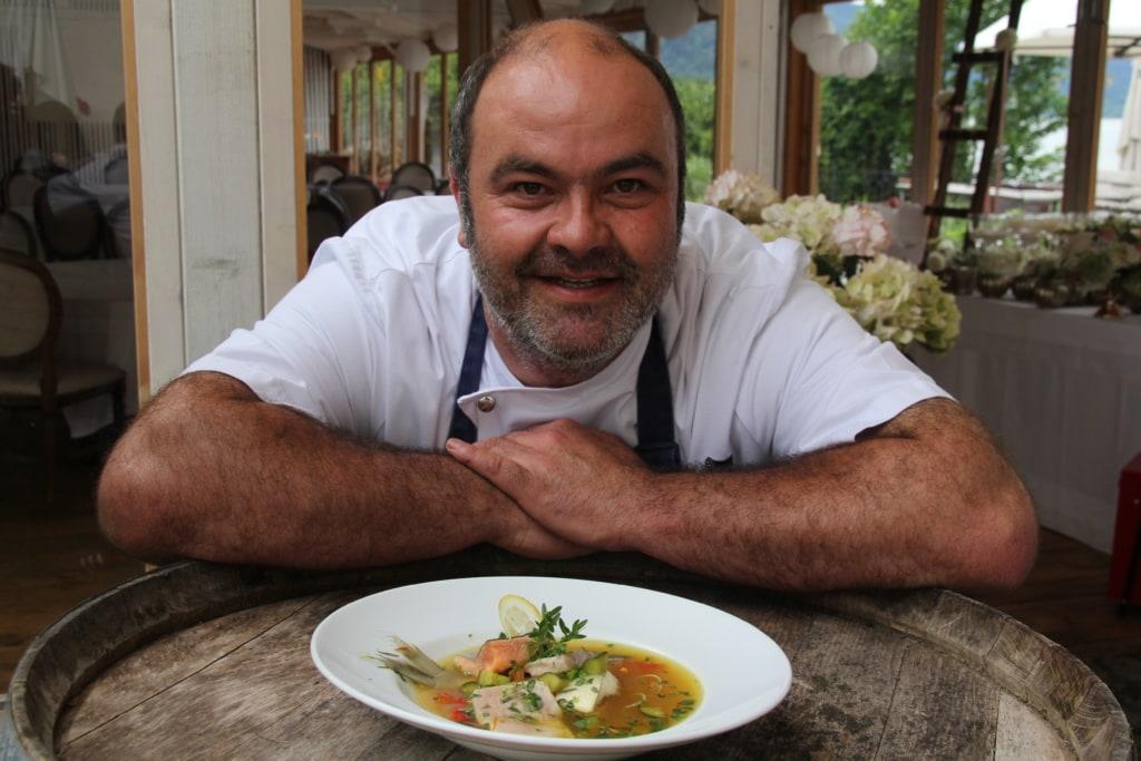 Küche in Kärnten: Zu Besuch bei Gerhard Satran in der Stiftschmiede