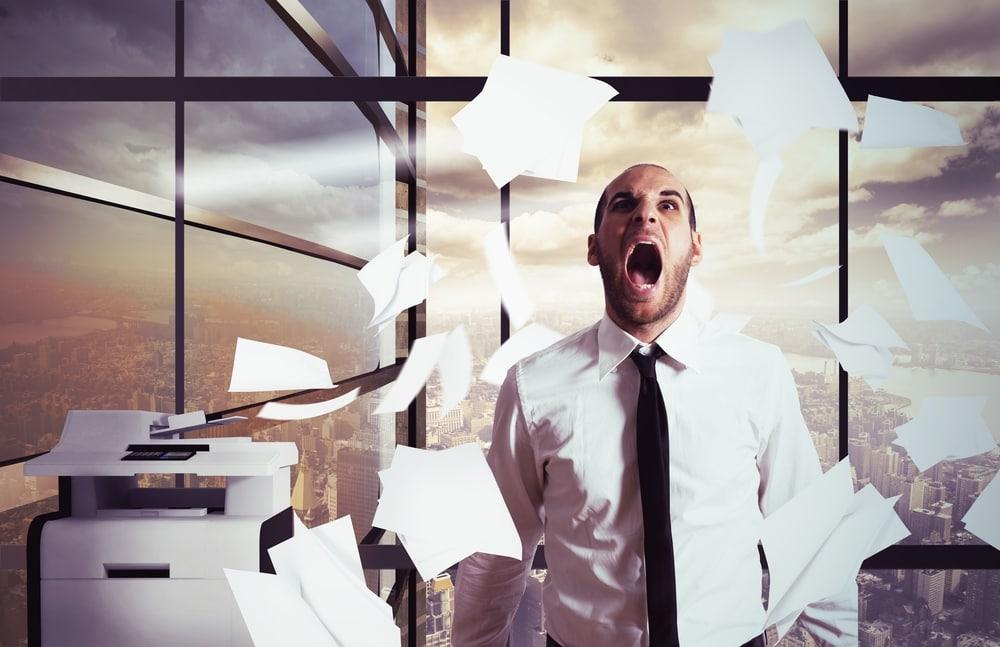 Urlaubsvorbereitung: bloß kein Stress im Büro
