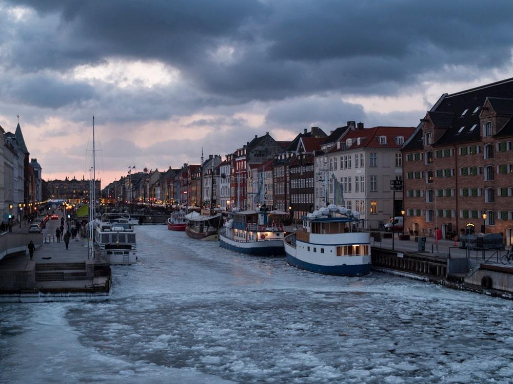 Hafenkanal in Kopenhagen