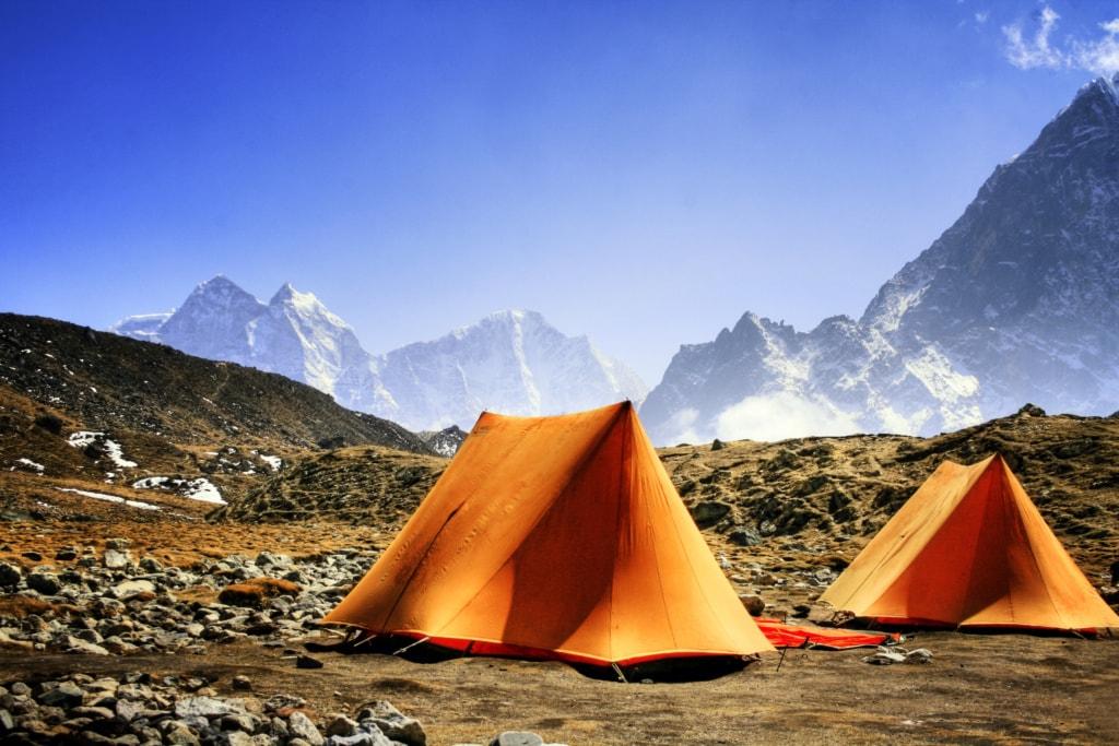 Land und Leute kennenlernen: Zelten im Himalaya