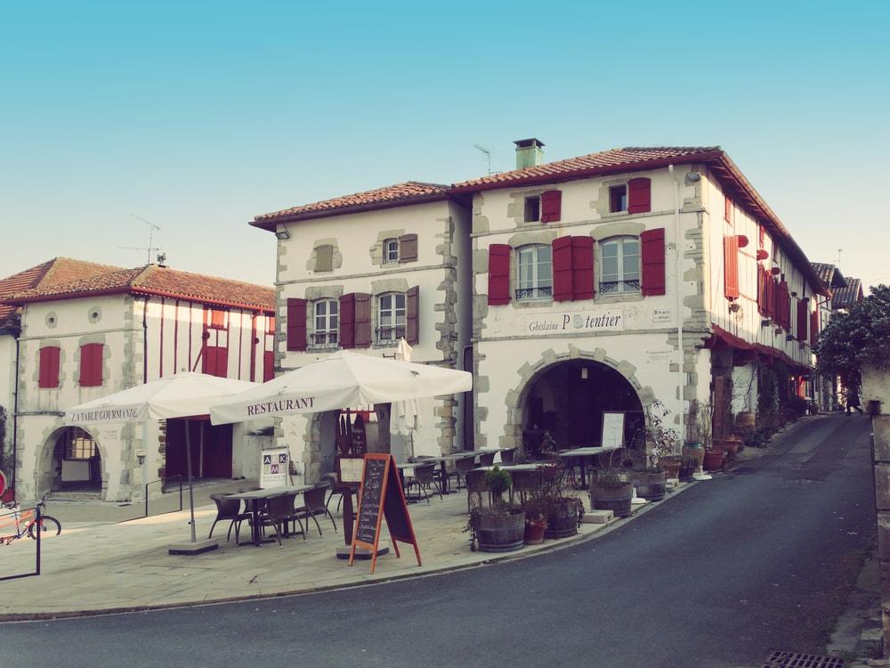 La Bastide-Clairence in Frankreich
