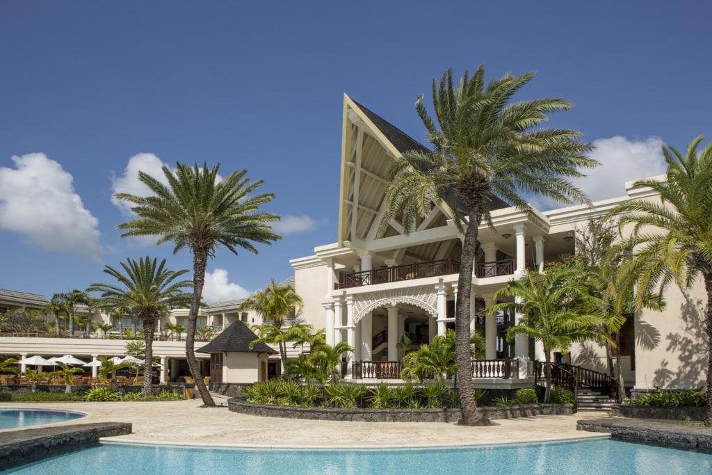 The Residence Mauritius von außen