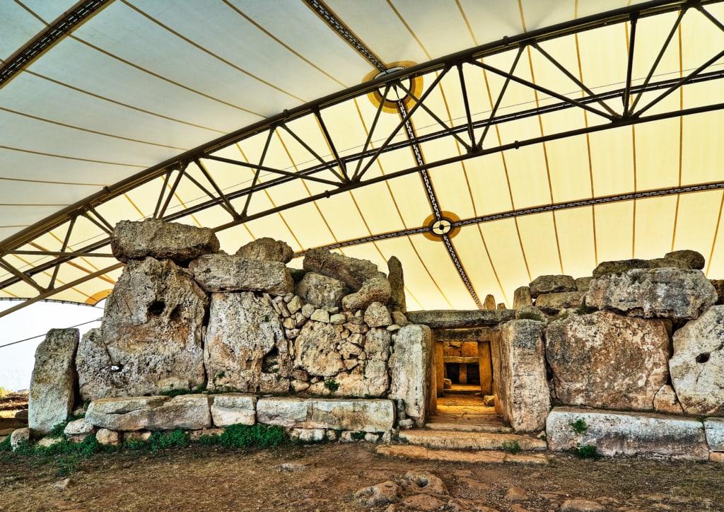 Mnajdra-Tempel auf Malta