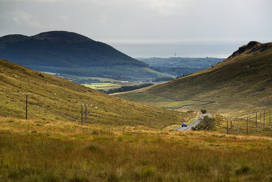 Mourne Mountains in Nordirland