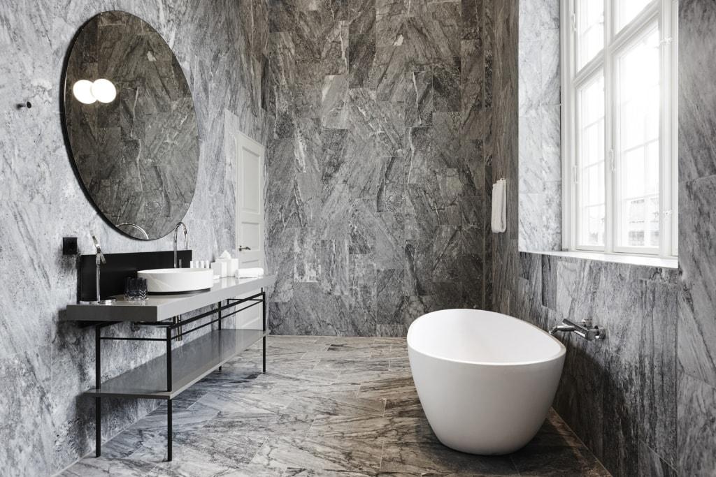 Badezimmer im Nobis Hotel Copenhagen