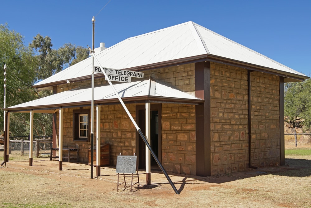 Old Telegraph Station Museum in Alice Springs