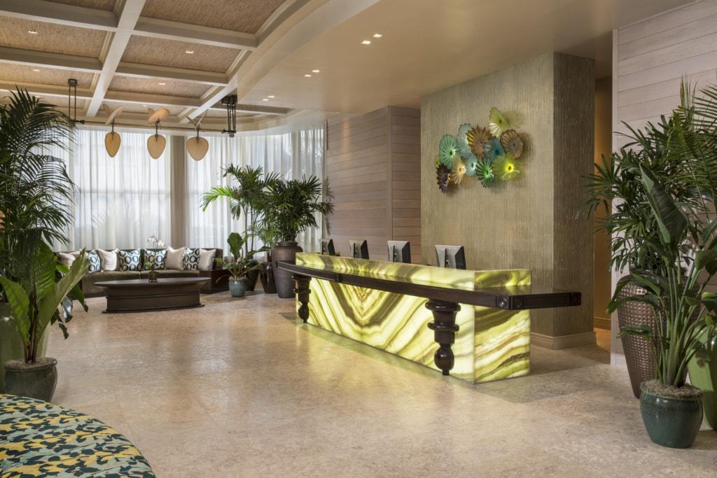 Lobby im The Palms Hotel & Spa