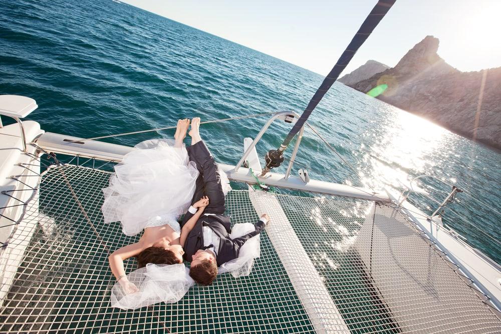 Heiraten auf dem Schiff: Verliebt an Bord