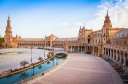 Europas Wahrzeichen: Plaza de Espana