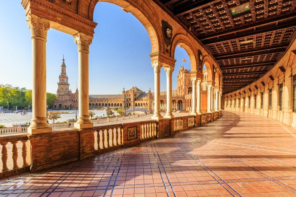 Europas populärste Wahrzeichen: Plaza de Espana in Sevilla