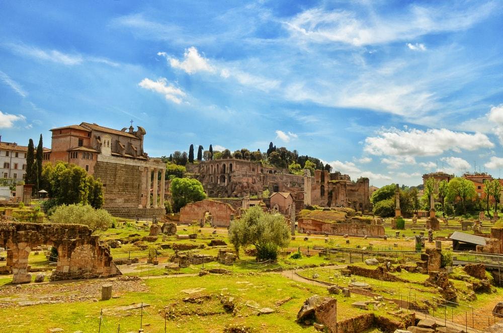 Palatin in Rom