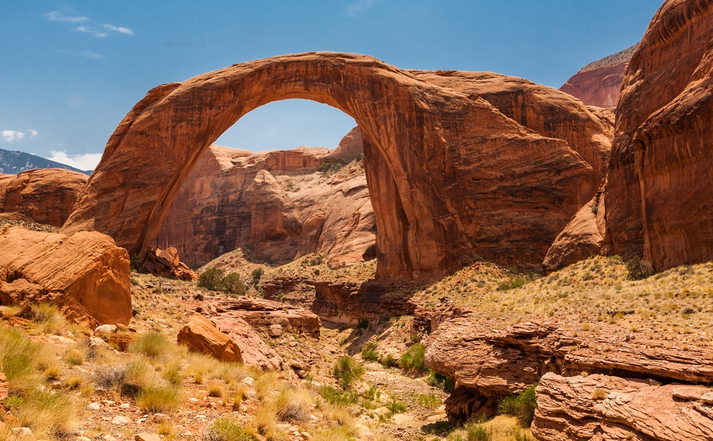 Wandern in Utah: Natural Bridge Monument