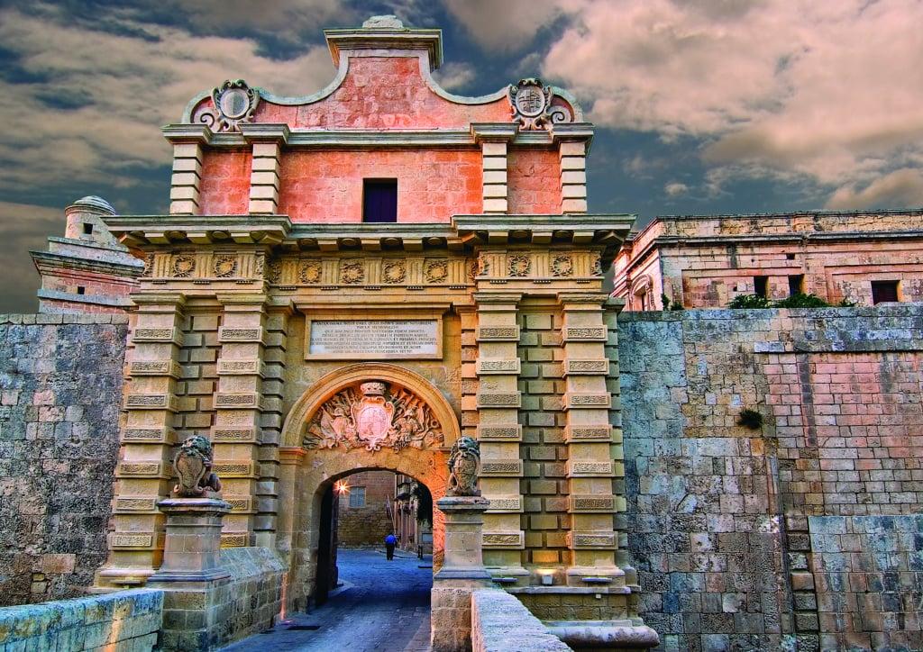 Stadttor von Mdina auf Malta