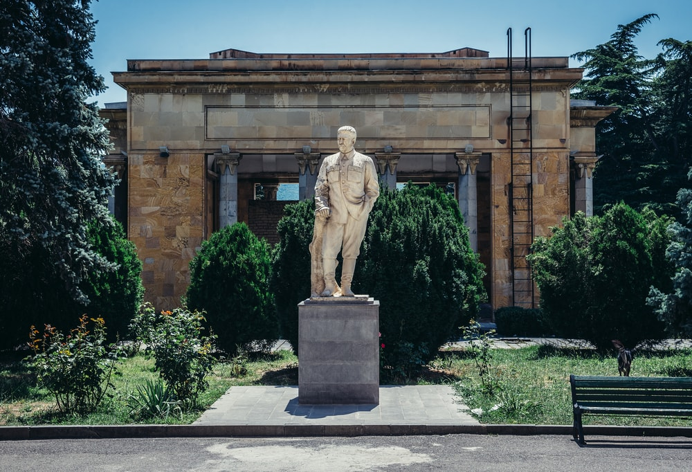 Stalinmuseum in Gori in Georgien