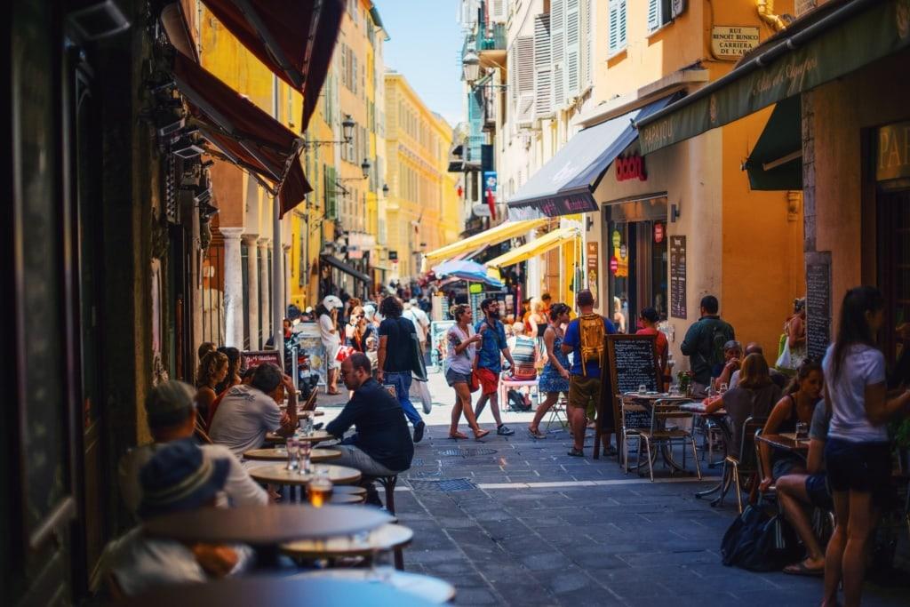 Straße in der Altstadt von Valletta