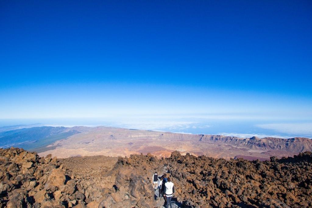 Wandern im Teide-Nationalpark auf Teneriffa