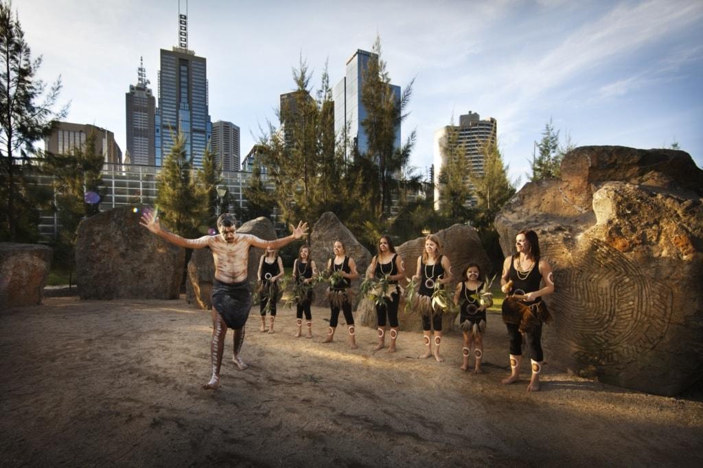 Aborigine in Melbourne