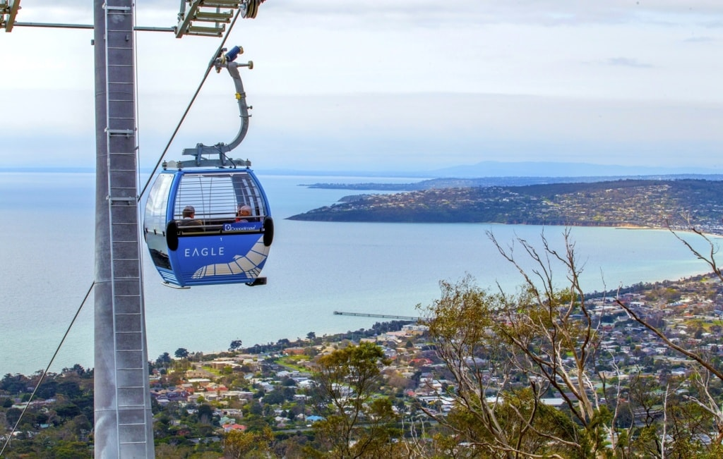 Seilbahn in Mornington Peninsula